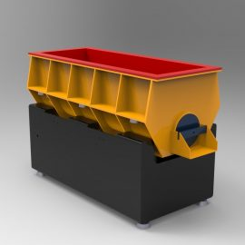 Blocos FP 3D:  Máquina de Tubos Vibratórios