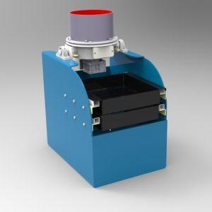 Blocos FP 3D:  Centrífuga de Acabamento Superficial