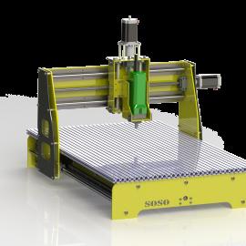 Blocos FP 3D:  Mesa de Corte CNC