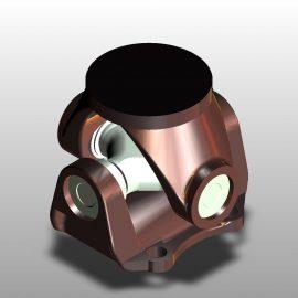 Blocos FP 3D:  Junta Universal - Cardan 3D