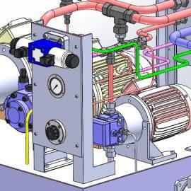 Blocos FP 3D:  Unidade Hidráulica VS 3D