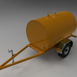 Blocos FP: Tanque reboque para Irrigação
