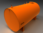Blocos FP: Tanque reservatório Horizontal Diesel