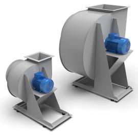 Blocos FP: Ventiladores Centrífugos Industriais 3D