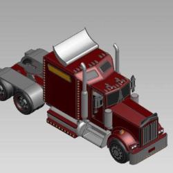 Blocos FP 3D:  Caminhão Modelo Volvo 3D