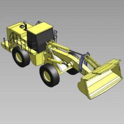 Blocos FP 3D:  Pá Carregadeira 3D