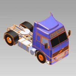 Blocos FP 3D:  Caminhão Truck 3D