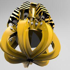 Blocos FP 3D:  Garra / Pinça Hidráulica 3D (Clamp She