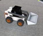 Blocos FP 3D:  Carregadeira BOBCat 3D