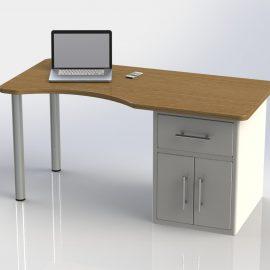 Blocos FP 3D:  Mesa para Computador 3D