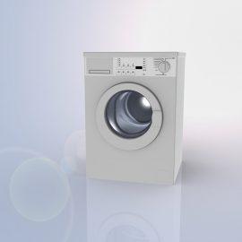 Blocos FP 3D:  Lavadora de Roupas Frontal 3D