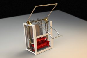 Blocos FP 3D:  Prensa Fardos Manual 3D
