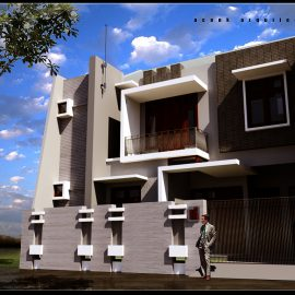 Blocos FP 2D:  Casa 2D