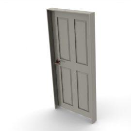 Blocos FP 3D:  Porta Residencial
