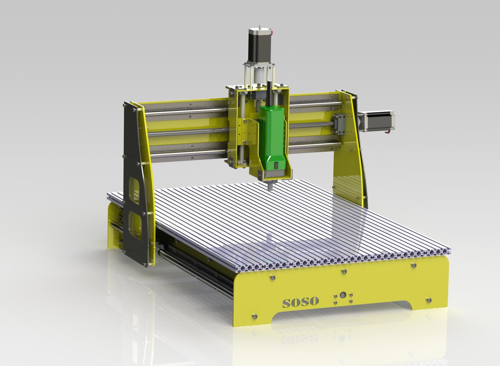 Imagens de #A19D2A Blocos FP 3D: Mesa de Corte CNC – Blocos Fabrica do Projeto 1640x1202 px 3432 Bloco Cad Banheiro Corte