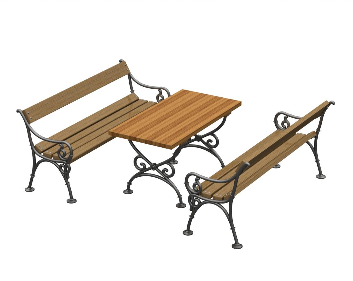mesa jardim cad blocos : mesa jardim cad blocos:Blocos FP 3D: Bloco 3D Bancos e Mesa de Jardim – Blocos Fabrica do