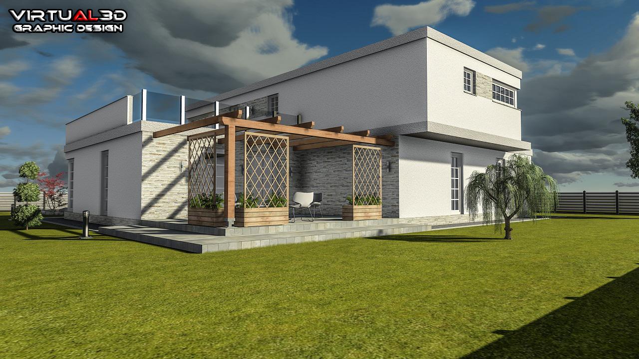 Blocos Fp 3d Casa Resid Ncia M1 3d Blocos Fabrica Do Projeto