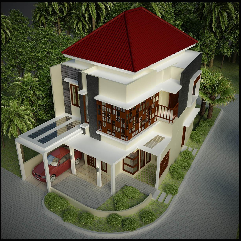 #601610 Blocos FP 3D: Residência 2 Pavimentos 3D – Blocos Fabrica do  1227x1227 píxeis em Criar Casas 3d