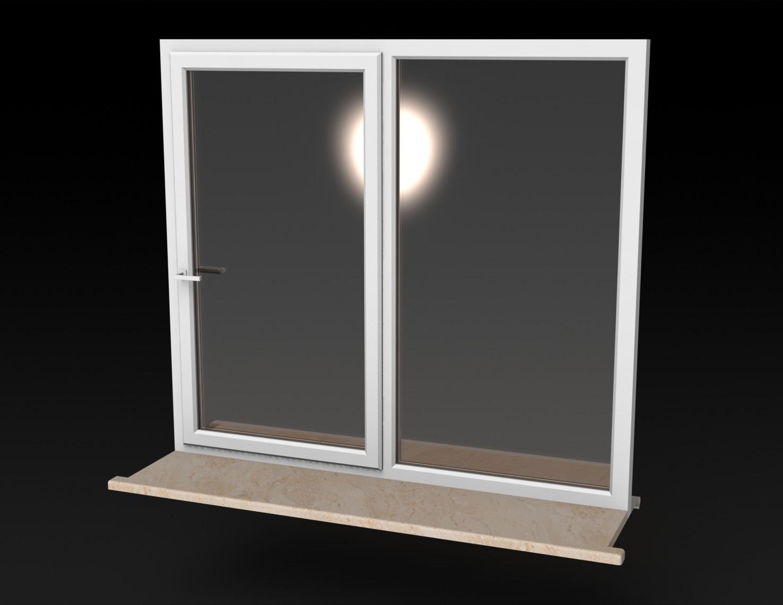Blocos FP 3D: Janela de Correr 3D – Blocos Fabrica do Projeto #7F644C 1475 1139