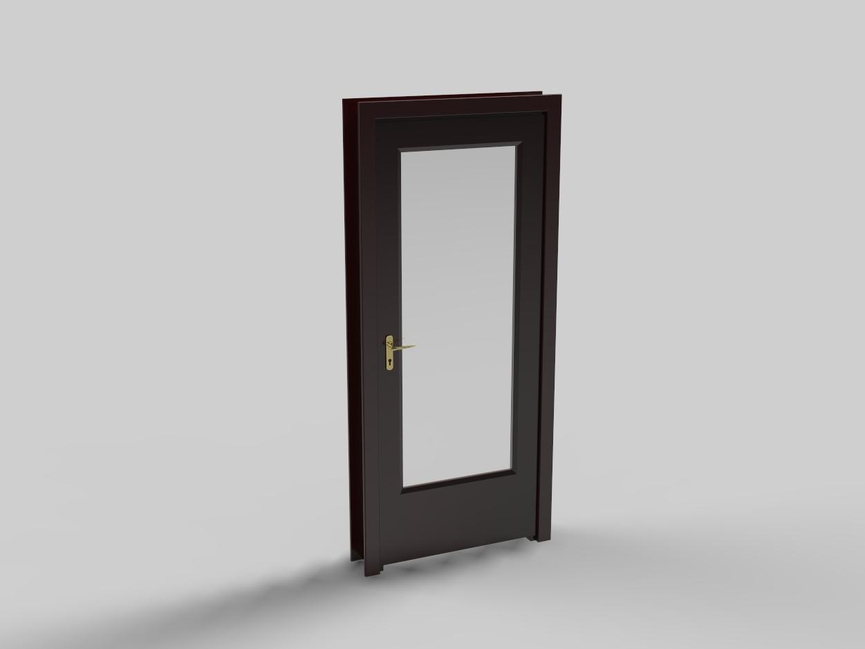 Blocos FP 3D: Porta Residencial 2 3D – Blocos Fabrica do Projeto #756A4B 1251 938