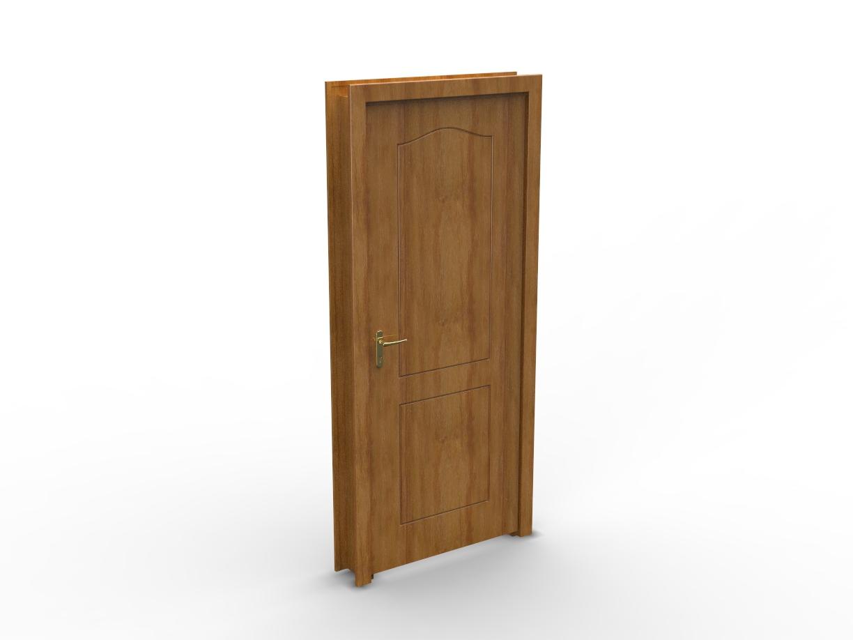 Blocos FP 3D: Porta Residencial – Blocos Fabrica do Projeto #744C25 1224 918