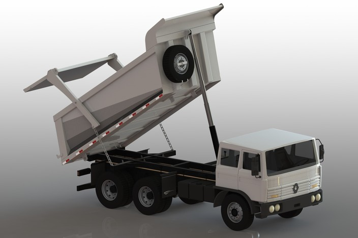 clamp truck