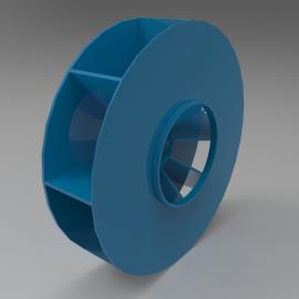 Blocos FP: Rotor ventilador centrífugo