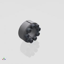 Blocos FP 3D:  Bucha Cônica / Anel de Bloqueio 3D série B400 [ipart]