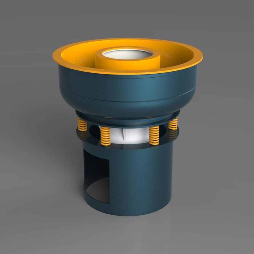 Blocos FP 3D:  Maquina vibratória de acabamento superficial