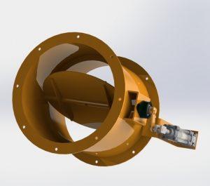 Blocos FP 3D:  Damper 350 mm (pneumático)