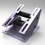 Blocos FP 3D:  Base de fixação esticamento motor