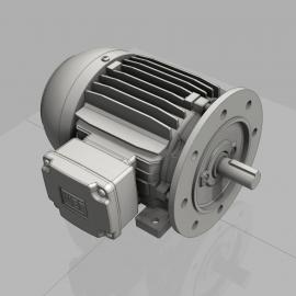 Blocos FP 3D:  Motor WEG Carc. 90S com Flange FF