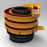 Blocos FP 3D:  Alimentador Helicoidal Vibratório