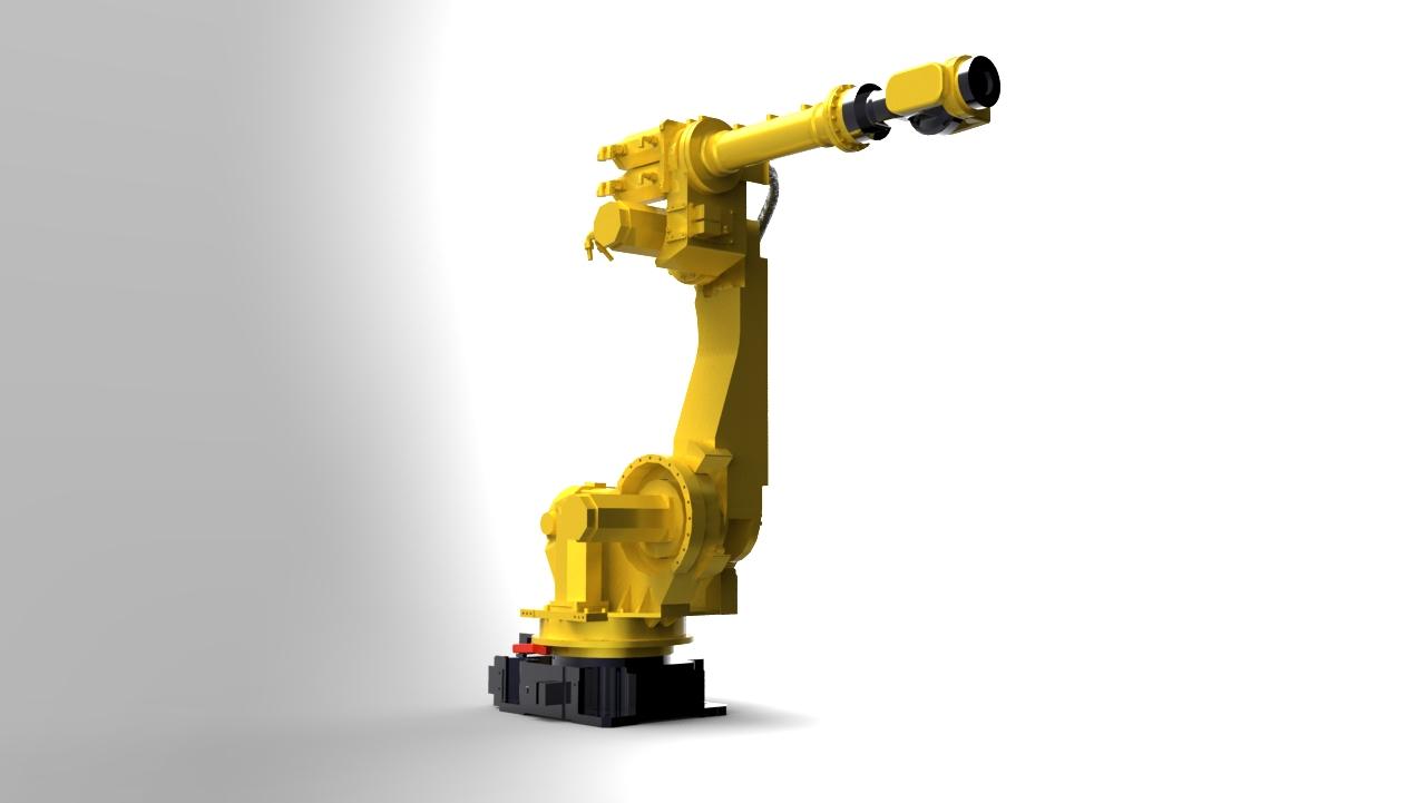 Blocos FP 3D:  Braço Robotico Fanuc