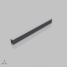 Blocos FP 3D:  Tubo Estrutural DIN EN 10219-2 3D Paramétrico - Inventor
