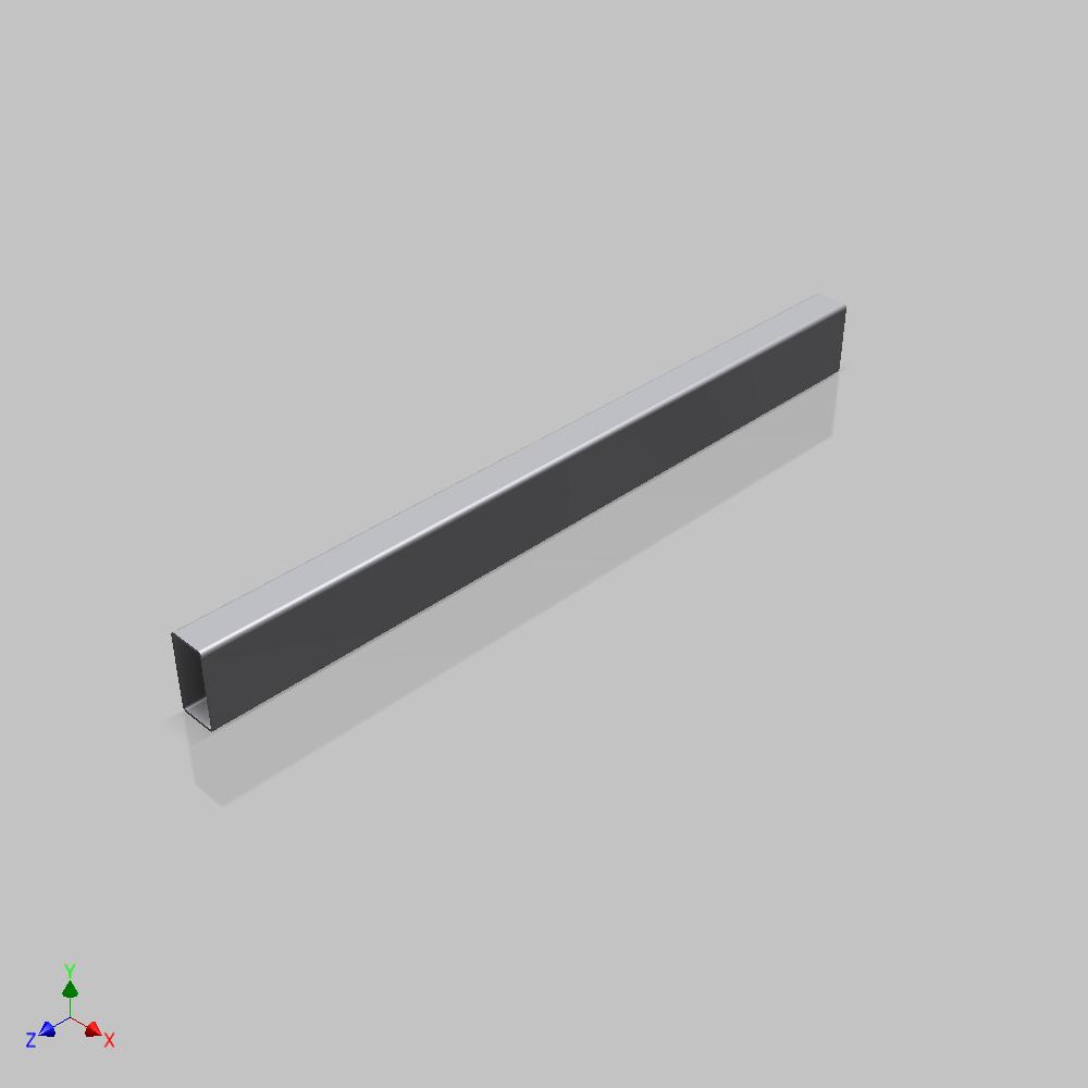 Blocos FP 3D:  Tubo Estrutural DIN EN 10219-2 3D Paramétrico – Inventor