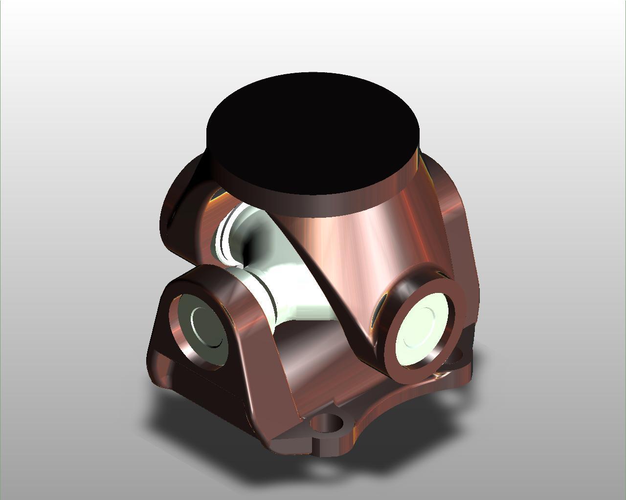 Blocos FP 3D:  Junta Universal – Cardan 3D
