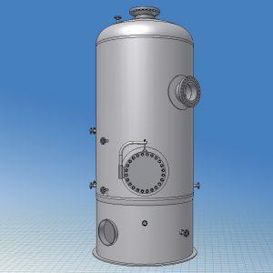 Blocos FP 3D:  Reservatório Vertical 3D