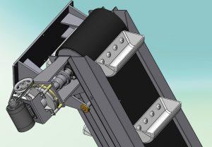 Blocos FP 3D:  Elevador de caçambas - Tolva 3D