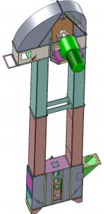Blocos FP 3D:  Elevador de Canecas 3D