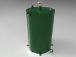 Blocos FP: Tanque Vertical para óleo 3D