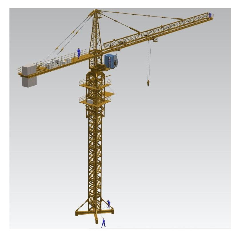 Blocos FP: Grua para Construção Civil – Crane