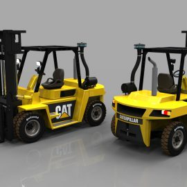 Blocos FP: Empilhadeira CAT