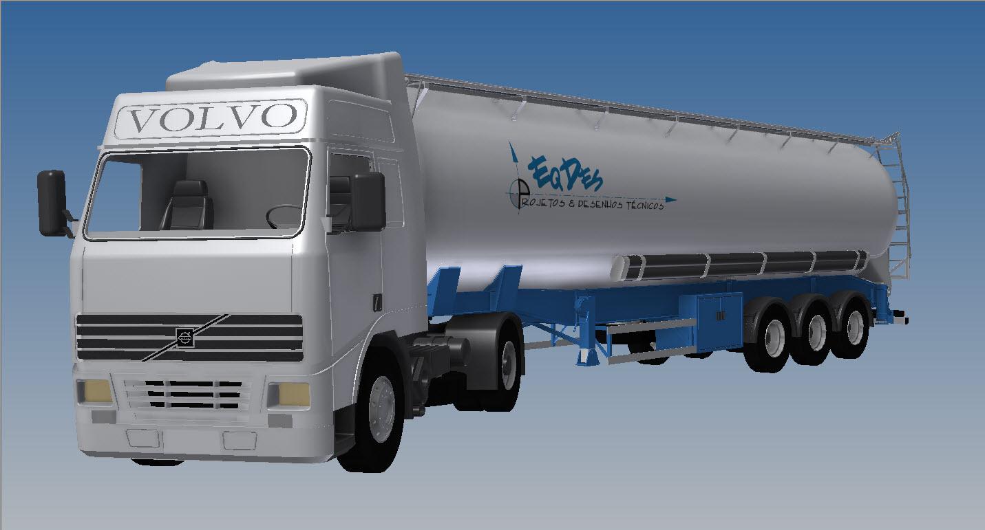 Blocos FP: Caminhão Silo Basculante