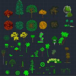 Blocos FP: Arvores e Vegetação