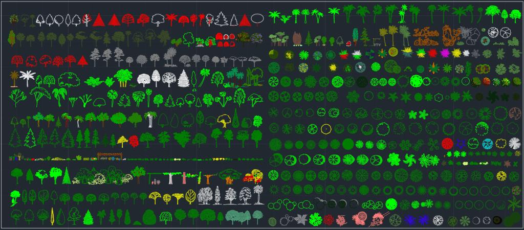 Blocos FP: Arvores e Plantas