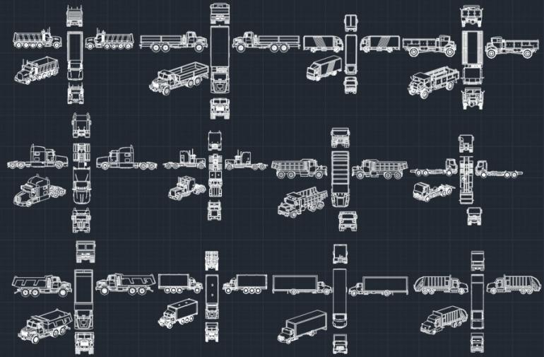 Blocos FP: Caminhões