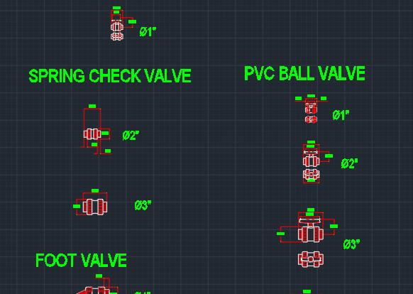 Blocos FP: Válvula Esfera em PVC