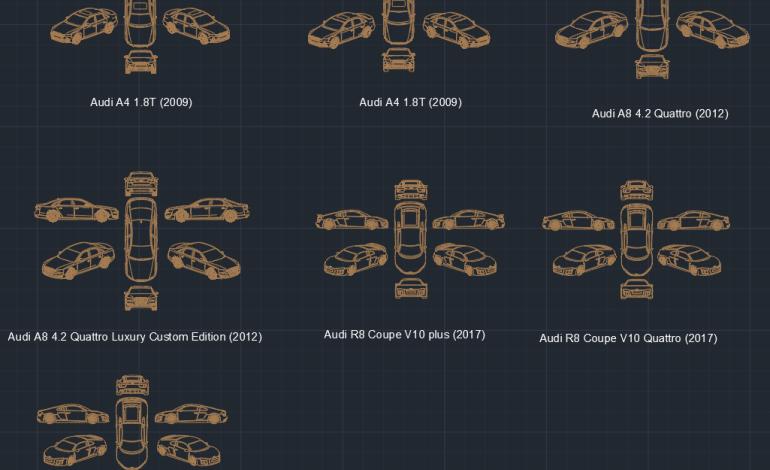 Blocos FP: Carros Audi