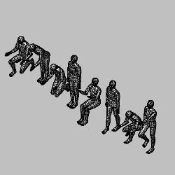 Blocos FP 3D:  Conjunto de Pessoas 3D